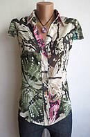 Блуза с коротким Рукавом от Gina Tricot Размер: 46-М