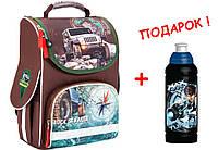 """Рюкзак школьный каркасный Rock crawler K17-501S-4, ТМ """"Kite"""""""