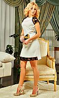 Женское платье с гипюра Мариен в расцветках