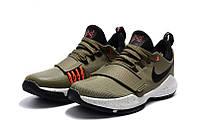 Детские баскетбольные кроссовки Nike Zoom PG 1 (Khaki), фото 1