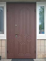 Дверь бронированная наружная входная