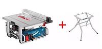 Пила циркулярная Bosch 1800вт 254мм gts10 j + стол gta600