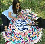 Пляжный коврик Happy, фото 3