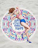 Пляжный коврик Happy, фото 8