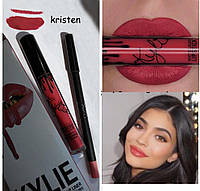 Матовая помада и карандаш Kylie Jenner KRISTEN