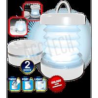Портативный складной фонарь-лампа Pop up lantern