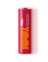 Батарейки 100% PeakPower - Super Heavy Duty АА R6 1.5V 2/40/1000шт