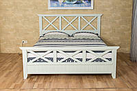 """Кровать из массива дерева """"Фолк"""" в стиле Прованс, фото 1"""
