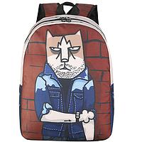 Рюкзак с брутальным котом