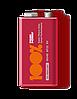 Батарейки 100% PeakPower - Super Heavy Duty 6F22 Крона 9V 1/10/500шт