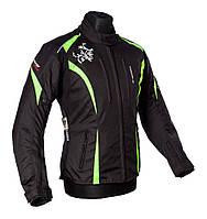 Roleff Latina Jacket Black/Neon Yellow, DXS Мотокуртка текстильная женская с защитой