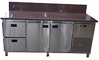 Холодильный стол с гранитной столешницей (задний борт)