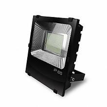 Светодиодный прожектор EUROELECTRIC SMD черный с радиатором 200W 6500K