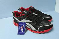 Мужские кроссовки Reebok (32-5) черно-красные код 0532А