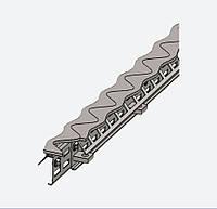 Профиль для деформационных швов ПДШ Синус-бета Sin-β-135