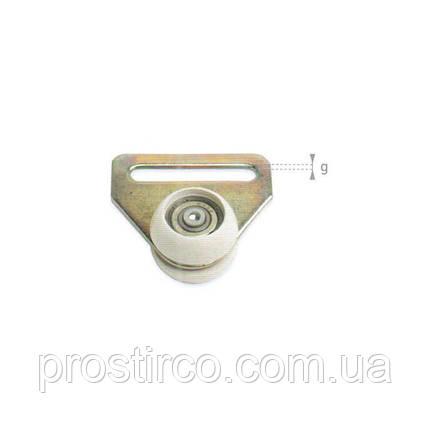Ролик с ободом для профиля ЕДСХА 57.20.03, фото 2