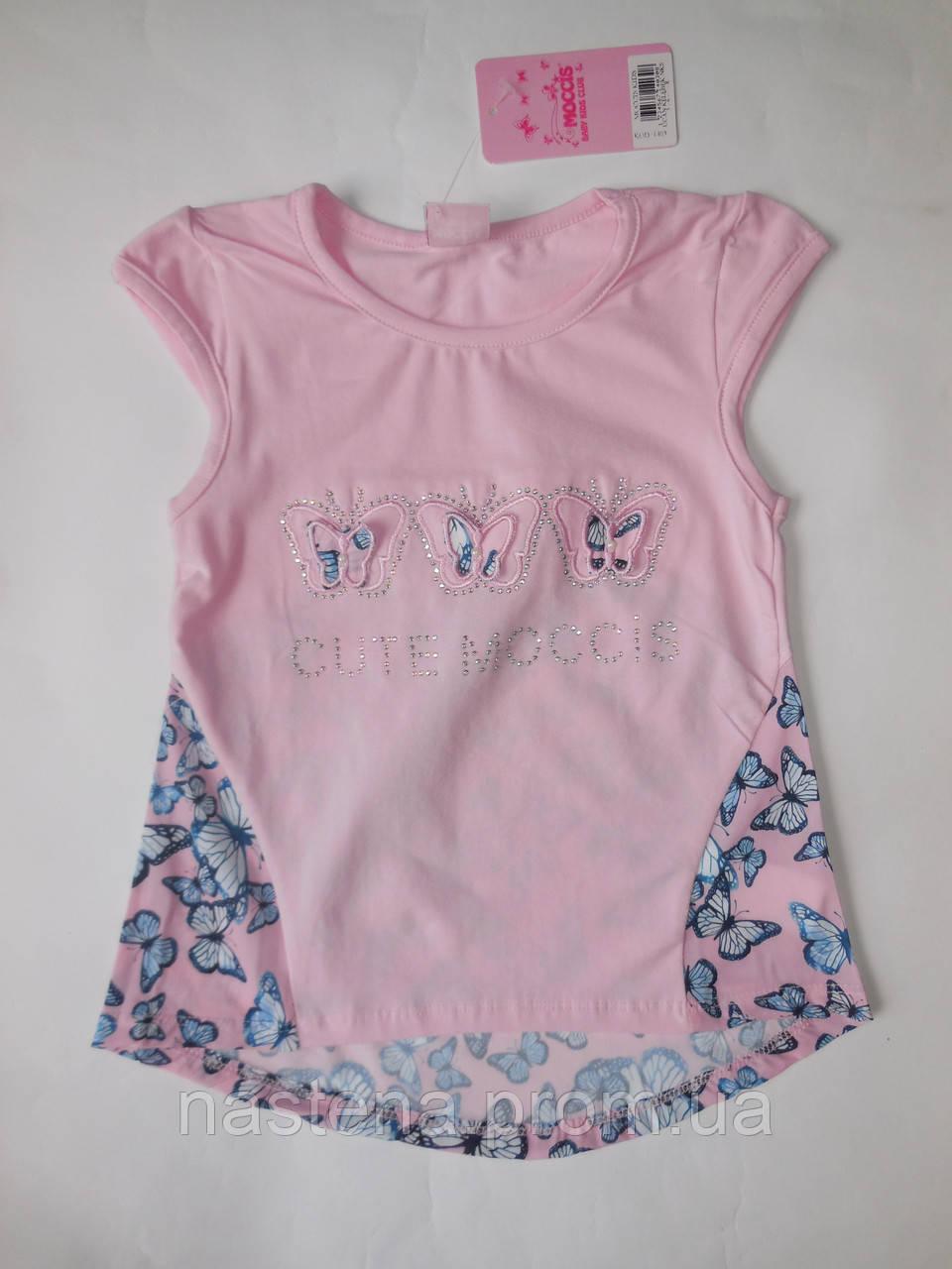 Детская летняя туника для девочек MOCCIS от 5 до 8 лет.