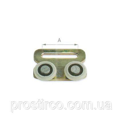 Ролик с ободом для профиля ЕДСХА 57.60.05, фото 2