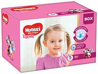 Подгузники Huggies Ultra Comfort 5 (12-22 кг) для девочек Дисней Бокс 84 шт., фото 1
