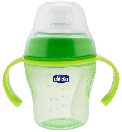 Чашка непроливайка с мягким носиком Chicco 06823  200ml, фото 2