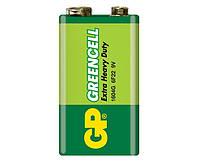 Батарейки GP - Greencell 6F22 Крона 9V 1/10/500шт