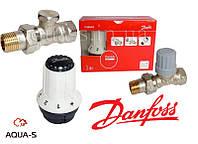 Комплект терморегулирующего оборудования для радиатора прямой DANFOSS 013G5254