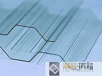 ТМ Ondex Ecolux Профилированный ПВХ прозрачный 0,8х2500х1095 мм (ТМ Одекс Эколюкс), лист