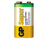 Батарейки GP - Super Alkaline 6LR61 / 6LF22 Крона 9V 1/10/500шт