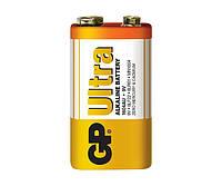 Батарейки GP - Ultra Alkaline 6LR61 / 6LF22 Крона 9V 1/10/500шт