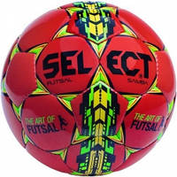 Мяч футзальный Select Futsal Samba IMS, red