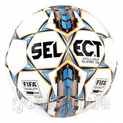 Мяч футбольный SELECT BRILLANT SUPER FIFA TB бело/синий, р.5
