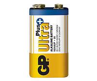Батарейки GP - Ultra Plus Alkaline 6LR61 / 6LF22 Крона 9V 1/10/500шт