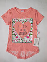 Детская красивая футболка для девочек MOCCIS от 5 до 8 лет., фото 1