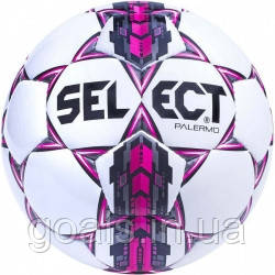 Мяч футбольный SELECT PALERMO (310) бел/сер/роз р.5