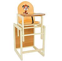 Детский стул трансформер для кормления Тигр