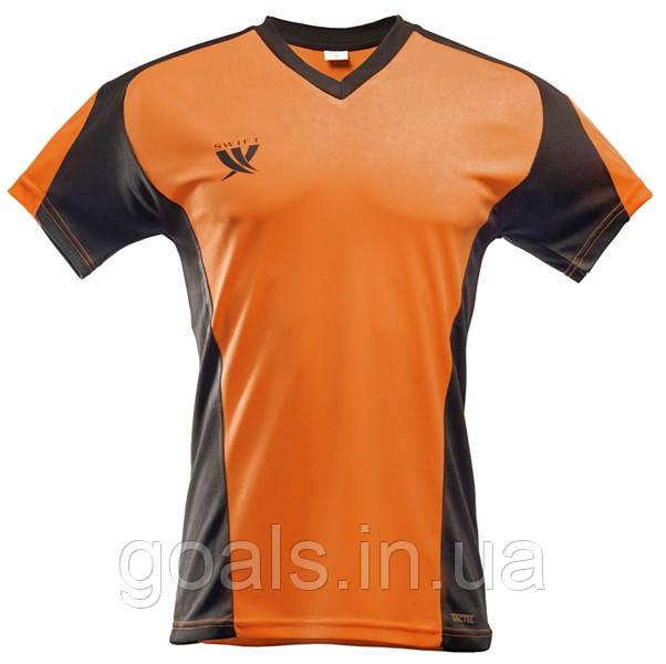 Футболка футбольная SWIFT 13 Noviembre Tactel (оранжево/черная)