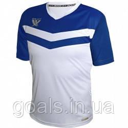 Футболка футбольная Swift Romb CoolTech (бело/синяя)