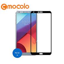Защитное стекло Mocolo 2.5D 9H на весь экран для LG G6 H870 черный