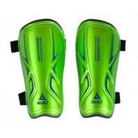 Щитки футбольные Select Standard (зеленые) р.XS