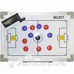 Доска тактическая складная Tactics board foldable - football 60х45
