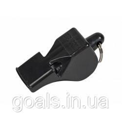 Свисток SELECT REFEREES WHISTLE CLASSIC (010), черный, пластиковый