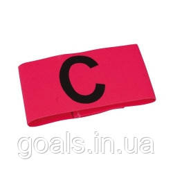 Капитанская повязка SELECT CAPTAIN'S BAND (012), розовый, Junior