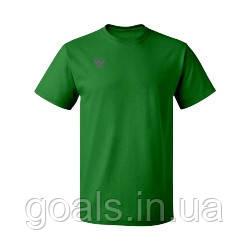 Футболка зеленая х\б, мужская