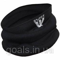 Футбольный шарф-снуд SWIFT (черный)