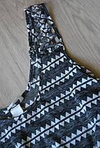 Топ в геометричный принт с красивыми плечами H&M, фото 2