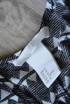 Топ в геометричный принт с красивыми плечами H&M, фото 3