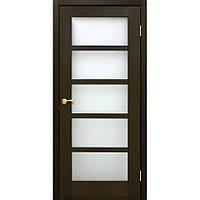 Двери натуральный шпон Вена ПО венге FL