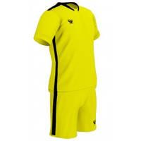 Футбольная форма PRIORITET (желто-черный) 140