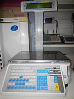 Торговые весы печатающие этикетку DIGI SM-300 P