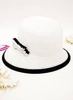 Пляжная женская шляпка Del Mare ассиметрия